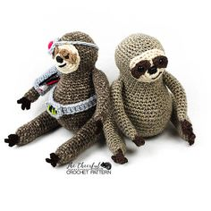 Sloth Crochet Pattern  Sloth Amigurumi Pattern  Amigurumi
