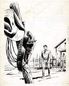 Tex Willer    Galep !    Aurelio Galleppini [Casale di Pari, August 28th, 1917 – Chiavari, March 10th, 1994]