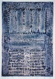 takahikohayashi:D-12.Jan.2000 mixed media painting on paperHAYASHI Takahiko 林孝彦