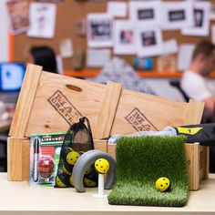 The Office Golf Crate is the perfect gift to support his dreams of going pro and ensuring he maintains a consistent paycheck until then...whenever then is.