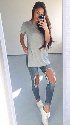 Flawless, comfy outfit.....Flawless, are you kidding me!  There are big holes in each leg.  Girls, have some pride!