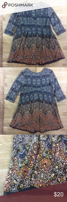 Urban Outfitters Boho Tunic Ecoté from Urban Outfitters. Very bohemian lightweight tunic. Like new condition Urban Outfitters Tops Tunics