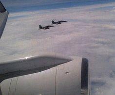 Mexican Air Force 401 Squadron, F-5 President Airplane Escolt