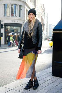 London Street Style Winter 2013