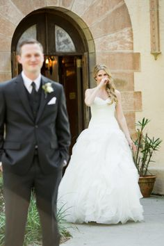 This was the bride's favorite moment of her big day: http://www.stylemepretty.com/little-black-book-blog/2015/04/08/hint-of-glamour-crosley-estate-wedding/ | Photography: Justin DeMutiis - http://justindemutiisphotography.com/