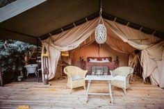 Glamping, Safari, Tent, Villa, Patio, Outdoor Decor, Home, Outdoor Camping, Vacation