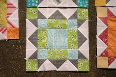 """WEATHERVANE BLOCK TUTORIAL by Elizabeth Jackson-inal block size: 12.5"""", finishes at 12"""" in a quilt all seams are a scant 1/4"""", unless otherwise noted"""