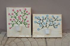 Telas decorativas by ALÉM DA RUA ATELIER/Veronica Kraemer, via Flickr