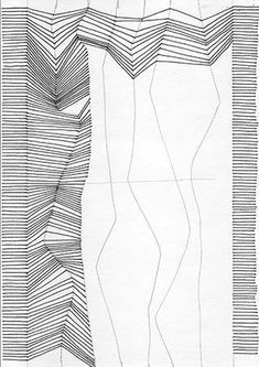 drawing line lines simple bridget imitate drawings really riely 3d using illusion op exercises movement draw sketch zentangle juliannakunstler patterns