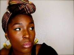 AFRICANEXPORT'S BLOG: HEADWRAPS . A PROTECTIVE STYLE OPTION FOR NATURAL HAIR