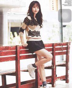 Kim So Hyun photoshoot Ceci 2015