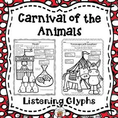 Engage and assess what your (K-8) students hear in a fun, creative and artistic way as you study about (and play) music from Camille Saint-Saens's, Carnival of the Animals. Play a recording (not included) and have your students follow the color code key to assess what they hear.
