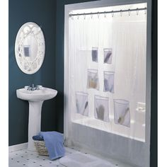 small shower, space saver idea