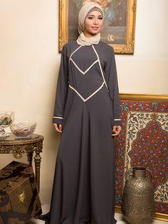 Noura Modern Abaya by Islamicboutique on Etsy