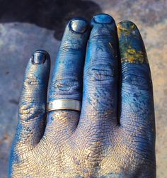 Beautiful artist fingers. Our first and best tools.