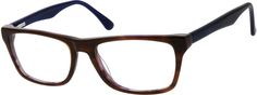 Unisex Brown 6280 Acetate Full-Rim Frame with Spring Hinges | Zenni Optical Glasses-reWw74Wl