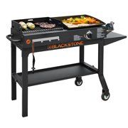 Duo Griddle: Charcoal Grill and Burner griddle. The Griddle & Charcoal Grill Combo is the perfect duo for complete outdoor cooking experience. Cook up your veggies on the griddle, while you grill your patties for that savory charcoal flavor. Griddle Grill, Grill Grates, Propane Griddle, Bbq Steak, Barbecue Grill, Barbecue Camping, Gas Bbq, Laura Lee, Kitchens