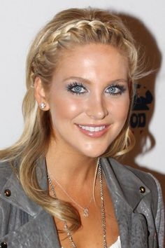 Image result for french braids hairstyles with hair straigt