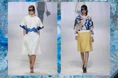 geode inspired 3.1 Phillip Lim Spring 2014 RTW highlights as featured on gemsounds.com
