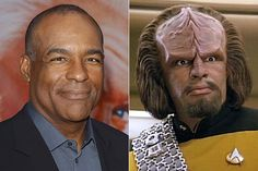 Michael Dorn/Worf | The 16 Best Special Effects Makeup Before And Afters