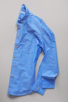 Italian Linen in Sea Blue by Brooklyn Tailors