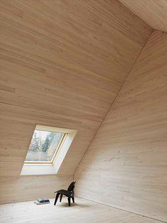 Angular Perspectives by Bernardo Bader Architects.