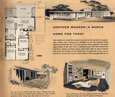 1808:1956 New Homes Guide | Flickr - Photo Sharing! 3 Bed, 1 Bath, Carport