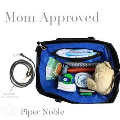 Kate is a great presentation bag for your business that also makes a great diaper bag! #pipernoblebags