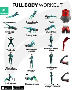 Fitness Workouts, Gym Workout Tips, Fitness Workout For Women, Butt Workout, Workout Videos, Muscle Workouts, Insanity Workout, Full Body Workout Program, Full Body Gym Workout