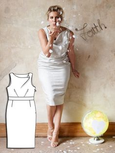 Read the article 'Special Occasion: 8 New Plus Size Sewing Patterns' in the BurdaStyle blog 'Daily Thread'.