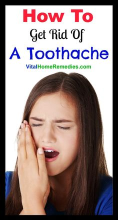 How to get rid of and stop a toothache fast at home. Best natural pain relief medicine for toothache.