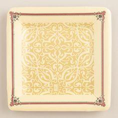 Downton Abbey Collection ~Downton Abbey Dessert Plates #WorldMarket Holiday Gifts, #DowntonAbbey #spon