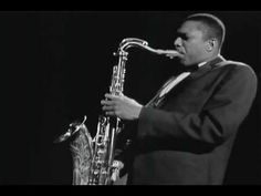 John Coltrane, On Green Dolphin Street. Germany, 1960.    A nice mix of instrument solos, some old school visual sound waves on the sax, and just great music. We put this on while playing dominos.