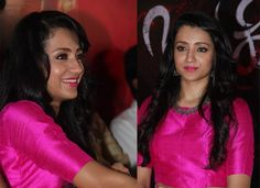 Actress Trisha krishnan latest stills in nayagi movie launch