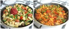 Recept: Rijst met Sperziebonen, Appel en Tomaat