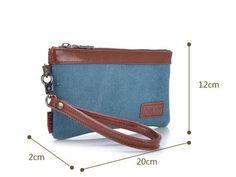 Women Small Sling Shoulder Clutch Bag Handbag Long Wallet Purse Wristlet Canvas Jeans Denim   11street Malaysia - Sling Bags