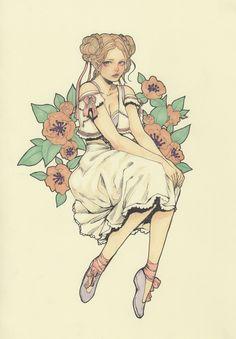 Original Color Drawing