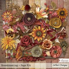 Breathtaking - Page Kit