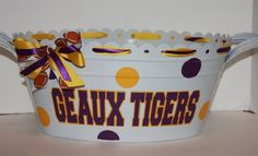 Even the party tub can be decorated for game day! #tailgate #tailgating