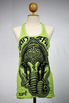 Gorgeous!! Ganesha Tank top Yoga Singlet Buddha Hamsa T-shirt --  OHM! --   Like, Share, Repin :) --   #Nutritionable --   http://www.nutritionable.com