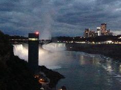 Niagara Falls-rainbow bridge view
