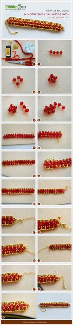 How Do You Make a Beaded Bracelet in Crossing Paths