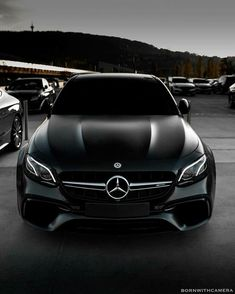 Daimler's mega brand Maybach was under Mercedes-Benz cars division until when the production stopped due to poor sales volumes. Mercedes-AMG became a Mercedes Amg, Black Mercedes Benz, E63 Amg, Mercedez Benz, Lux Cars, Top Luxury Cars, Performance Cars, Future Car, Car Wallpapers