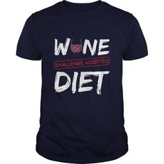 Wine Challenge Accepted Diet Great Funny Gift For Any Wine Fan Lover T Shirts, Hoodies. Get it here ==► https://www.sunfrog.com/Drinking/Wine-Challenge-Accepted-Diet-Great-Funny-Gift-For-Any-Wine-Fan-Lover-Navy-Blue-Guys.html?57074 $19