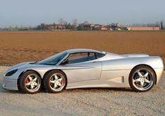 Covini C6W - Ten Wild Cars