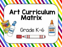 Art Curriculum Matrix