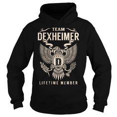 Team DEXHEIMER Lifetime Member - Last Name, Surname T-Shirt