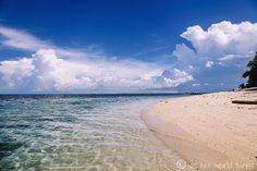 Stunning beach on Turtle Island in Borneo, Malaysia -- READ MORE: http://www.asherworldturns.com/arriving-at-turtle-island-borneo/