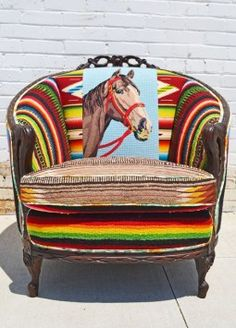 Texas style- love this chair!