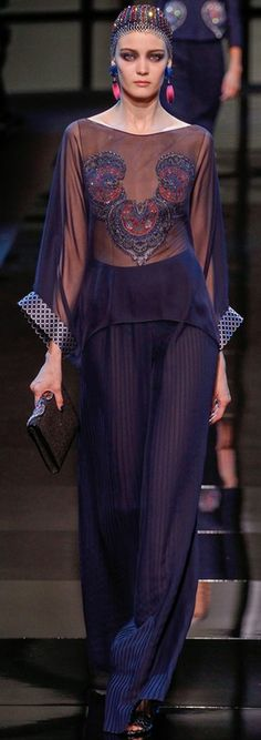 Georgio Armani Prive Couture S/S 2014 | The House of Beccaria Beautifuls.com Members VIP Fashion Club 40-80% Off Luxury Fashion Brands